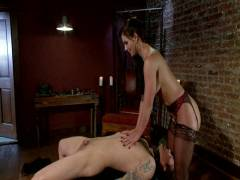 Divine Bitches: Goodbye Parker London A Divine Farewell Administered By Phoenix Banging Marie