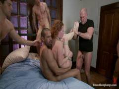Bound Orgies: Audrey Hollander Returns To The Industry