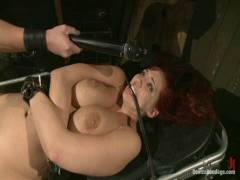Device Bondage: Kelly Divine: Stretched, Pounded, Flogged, And Squirting Everywhere, Rosebud Exposed