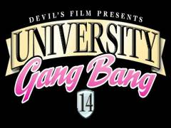 University Gang Fuck 14